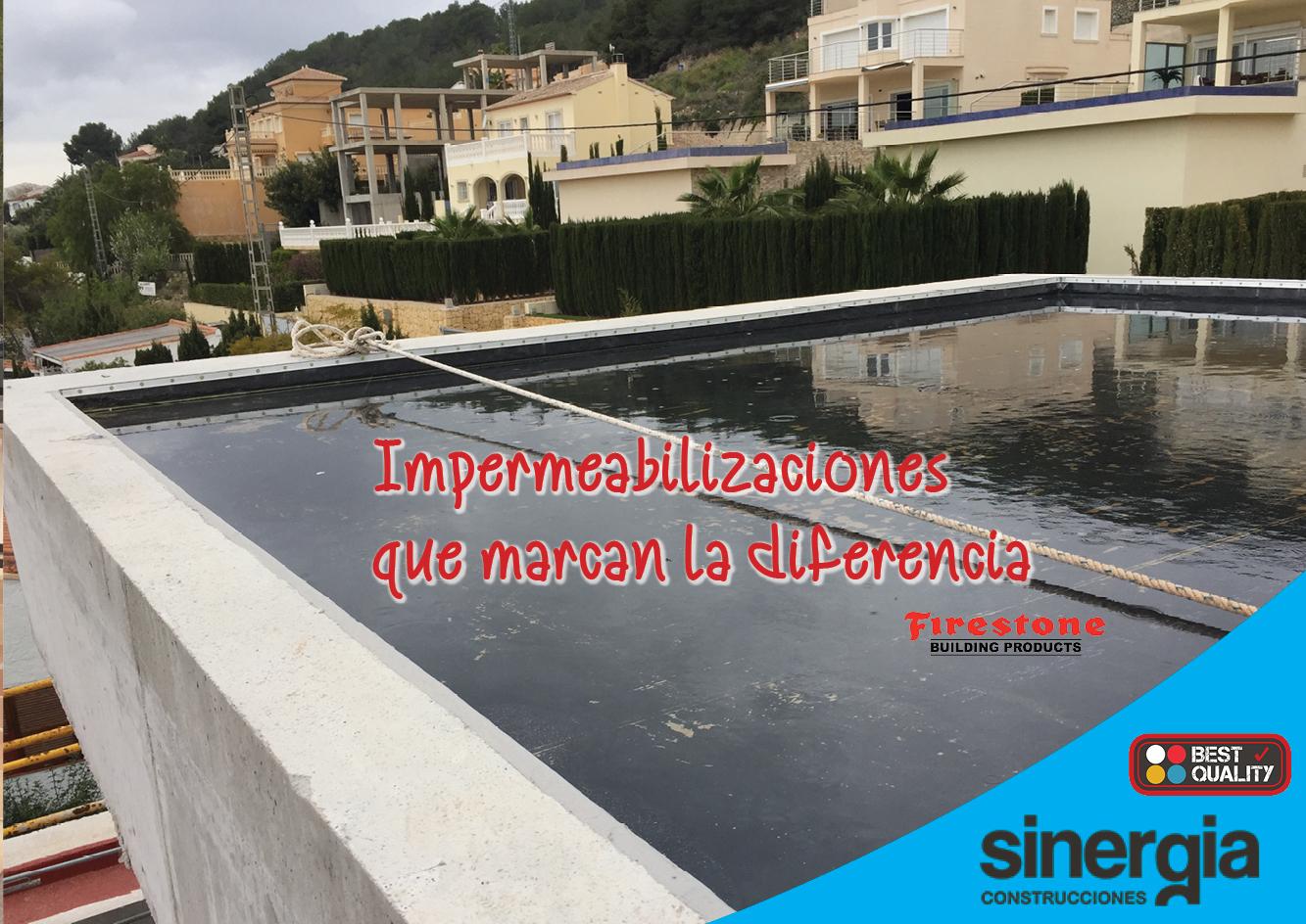 Impermeabilización: problemas de goteras y humedades